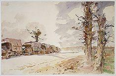John Singer Sargent | Truck Convoy | The Met