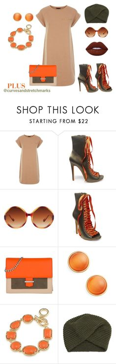 """Ivette's style"" by ivette-mamii-zerquera on Polyvore featuring Steve Madden, San Diego Hat Co., HUGO, Kate Spade, 1st & Gorgeous by Carolee and NOVICA"