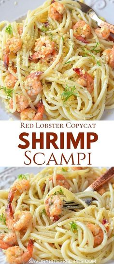 If you love Red Lobster Shrimp Scampi then this recipe is what you need.Easiest scampi ever!Easy dinner fix. If you love Red Lobster Shrimp Scampi then this recipe is what you need.Easiest scampi ever!Easy dinner fix. Best Pasta Recipes, Seafood Recipes, Easy Shrimp Pasta Recipes, Delicious Pasta Recipes, Best Pasta Recipe Ever, Shrimp Dinner Recipes, Healthy Shrimp Recipes, Easy Italian Recipes, Best Dinner Recipes Ever