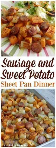 Sausage and Sweet Potato Sheet Pan Dinner