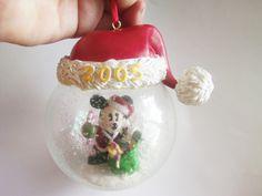 Disney Ornament / Mickey Mouse Ornament / Disney Items / Mickey Mouse Items / Disney Decor / Christmas Ornament / Mickey Mouse Decor by TamJewelryandUniques on Etsy
