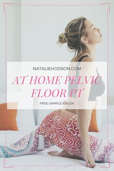 How I avoided surgery for Diastasis Recti (mom pooch)! Diastasis recti, pelvic floor exercises, pelvic floor physical therapy, accidental leaking, postpartum workout, Natalie Hodson. Free Sample EBook