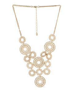 image of Lacey Bib Necklace