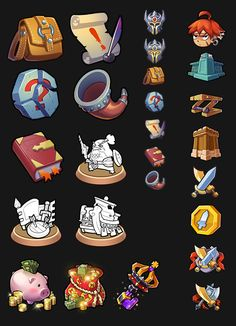 ArtStation - ICONs, Bob Wu