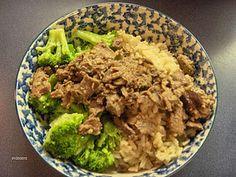 Gluten Free Beef Broccoli
