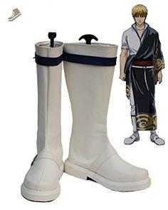 Gintama Sakata Kintoki Cosplay Shoes Boots Custom Made - Telacos sneakers for women (*Amazon Partner-Link)