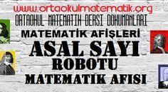 ASAL SAYI ROBOTU  MATEMATİK AFİŞİ