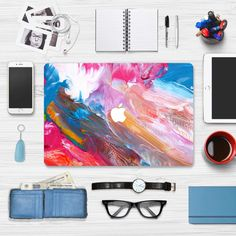 Macbook Skin Decal Sticker - Color Painting