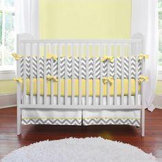 Decoração para quarto de bebê com estampa de ziguezague - Dicas pra Mamãe