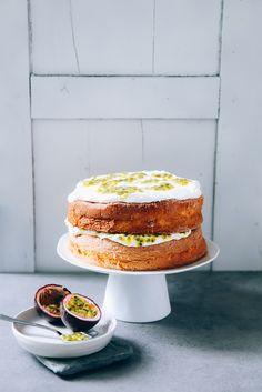 Ein Rezept für fruchtigen Maracuja Spongecake - für Euch vom Tasting Australia Foodfestival in Südaustralien mitgebracht