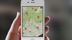 App-Design, Map of farmes in my neighborhood