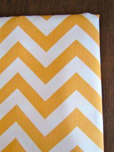 CHEVRON TABLE RUNNER  New Color Lt. Orange top Wedding Cloth 13x 72 Decorative missoni. $24.95, via Etsy.