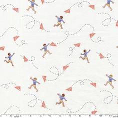 Sarah Jane - Children at Play - Chasing Airplanes in Cream