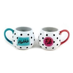 Give your bestie the other half of this cute mug set, also a great gift for yourself