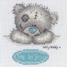 Me To You - Tatty Teddy - counted cross stitch kit Coats Crafts