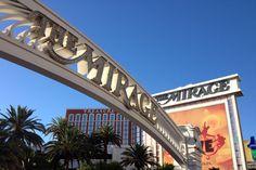 Hotel Mirage. Um dos principais locais de espetáculos em Los Vegas. #viagem #lasvegas #mirage