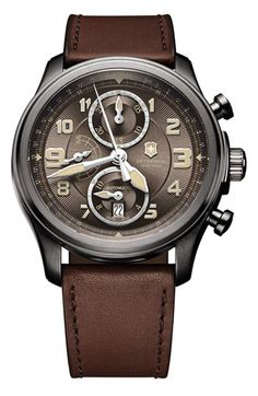 Victorinox Swiss Army® 'Infantry Vintage' Automatic Chronograph Watch