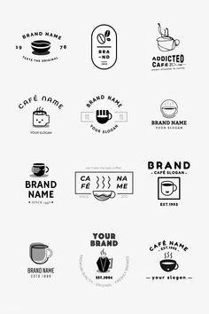 coffee icon Laden Sie den Premium-Vektor C - coffee Corporate Branding, Café Branding, Coffee Shop Branding, Coffee Shop Logo, Coffee Shop Design, Business Branding, Personal Branding, Personal Logo, Coffee Bean Logo