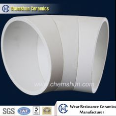 Abrasion Resistant High Alumina Ceramic Cylinder Pipe/ Bend Pipe on Made-in-China.com