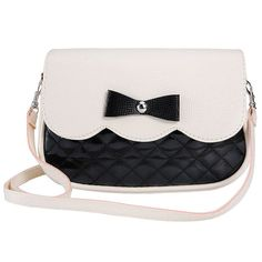 New Women Ladies 7 Messenger Bags PU Leather Tote Satchel Fashion Lovely Girl Bowknot Crossbody Shoulder Handbags Freeshipping