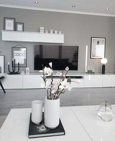 Living Room Decor Cozy, Elegant Living Room, Living Room Grey, Home Living Room, Bedroom Decor, Bedroom Artwork, Bedroom Bed, Home Room Design, Living Room Designs
