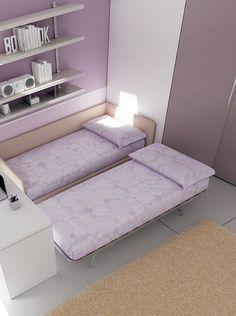 Space di Moretti Compact è un sistema #letto completo che può ...