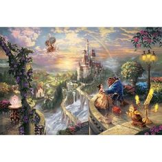 New Thomas Kinkade painting of my favorite Disney movie!