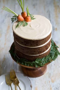 Carrot Cake with Brown Sugar Cream Cheese Frosting cake pops cake cake desserts desserts dulces en vaso faciles gourmet navidad Pumpkin Recipes, Cake Recipes, Dessert Recipes, Easter Recipes, Food Cakes, Cupcake Cakes, Cupcakes, Pumpkin Cream Cheeses, Cheese Pumpkin