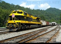 1069 Norfolk Southern EMD SD70ACe at Gilbert, West Virginia.