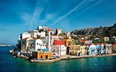 Kastellorizo Bay, Greece.