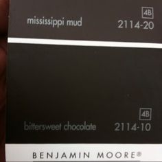Color For Our Beams Bittersweet Chocolate Benjamin Moore Chocolate