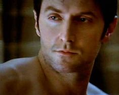 """""""Richard Armitage shirtless. Need I say more?"""" - He's doing a 'smoulder' face.  I think I just died. x)"""