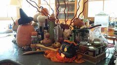 Fall Halloween Decor. Clenney Kasso Creatives.  Auburn, AL