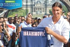 Paris Saint-Germain coach Carlo Ancelotti confirmed in a press conference today that newly signed Zlatan Ibrahimovic will play between 40-45 minutes for Paris Saint-Germain (PSG) against D.C. United in a friendly match at RFK Stadium on Saturday, July 28, at 7: 30 p.m.
