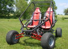 GrandDaddy Full Suspenion Two Seat Go Kart Plans Build A Go Kart, Diy Go Kart, The Plan, How To Plan, Quad, Welding Projects, Fun Projects, Kart Cross, Go Kart Parts
