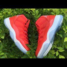 2566e458ca Jordan Shoes | Air Jordan Win Like 96 Retro 11s | Color: Red | Size: 8-13  Us Men