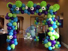 Birthday Party Organizer In Ashok Nagar delhi Monster University Birthday, Monster 1st Birthdays, Monster Inc Party, Monster Birthday Parties, 3rd Birthday Parties, First Birthdays, Boys First Birthday Party Ideas, 1st Boy Birthday, Balloon Decorations