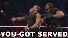 The Shield Gifs; Roman Reigns, Dean Ambrose, Seth Rollins Gifs ...