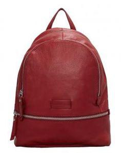 077dd9f5b60d2 Damenrucksack Liebeskind Leder LottaE9 Vintage italian red