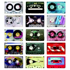 old tape cassettes - nice !
