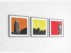 Oxo Tower Print print by jayson lilley £40.00