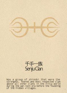 Senju Clan - Naruto Shippuden