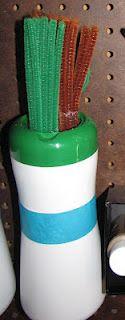 Experiment MOM: Upcycled Challenge - Plastic Jars to Crafts storage #freefromtrashe