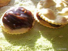 ALFAJORES CON CHANCACA ….. MANJAR BLANCO – Cocina Chilena Muffin, Breakfast, Food, Dessert Recipes, Cuisine, Blancmange, Bicycle Kick, Fiestas, Words