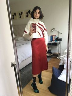 Everything I Wore (And Wanted to Wear) This Fashion Week in Mirror Selfies - Man Repeller