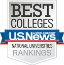The University of Florida and University of Miami were both ranked at #48 out of 1800 schools.