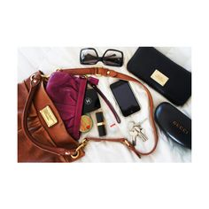 (Marc Jacobs) Handbag essentials: Sunglasses, purse, make up bag, iPhone, keys What In My Bag, What's In Your Bag, My Bags, Purses And Bags, Coin Purses, Cape Cod Collegiate, Marc Jacobs, Inside My Bag, What's In My Purse