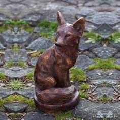 Evergreen Enterprises - Sitting Fox Statue