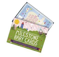 Milestones Baby Cards - Erinnerungskarten