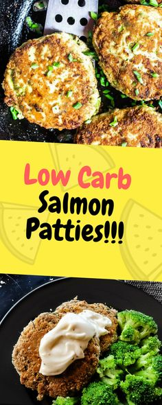 These Low-Carb Salmon Patties have the flavor of the classic salmon patty recipe with none of the fillers… Ingredients 1 oz.) can Wild Alaskan Pink Salmon 1 egg ⅛ teaspoon ground black pepper ¼ teaspoon salt 1 Tablespoon butter. Pink Salmon Recipes, Healthy Salmon Recipes, Good Healthy Recipes, Seafood Recipes, Low Carb Recipes, Healthy Eats, Diabetic Salmon Recipe, Diabetic Recipes, Salmon Patties Recipe